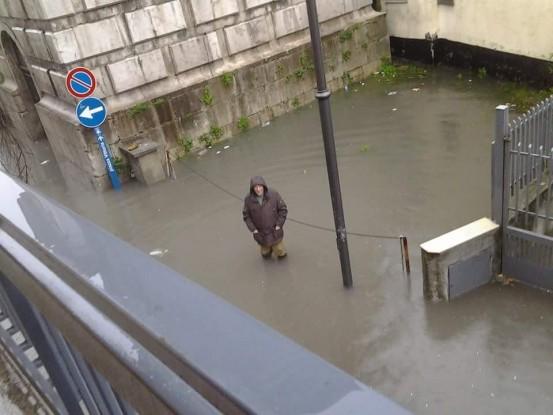 Saviano (NA), piove sul mio paese