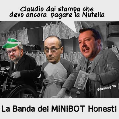 La banda dei minibot 'onesti'