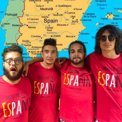 La musica marchigiana sbarca a Barcellona con la pazza band Capabrò