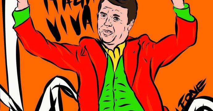 Renzi come Phoenix, il Joker di Italia Viva