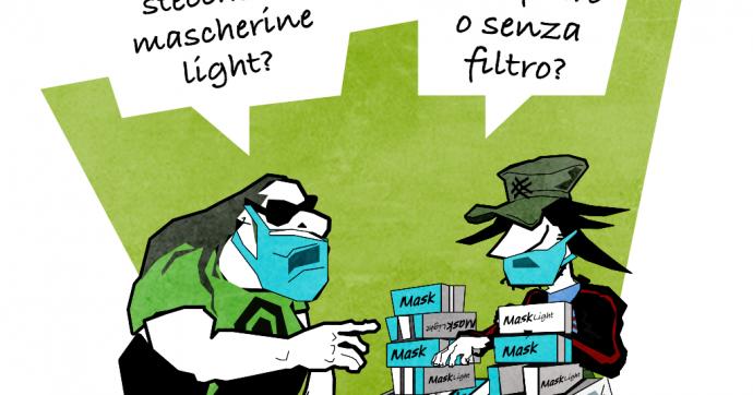 Bionde Covid [Vignetta]