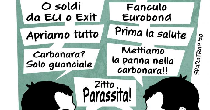 Salvini contro Salvini [VIGNETTA]