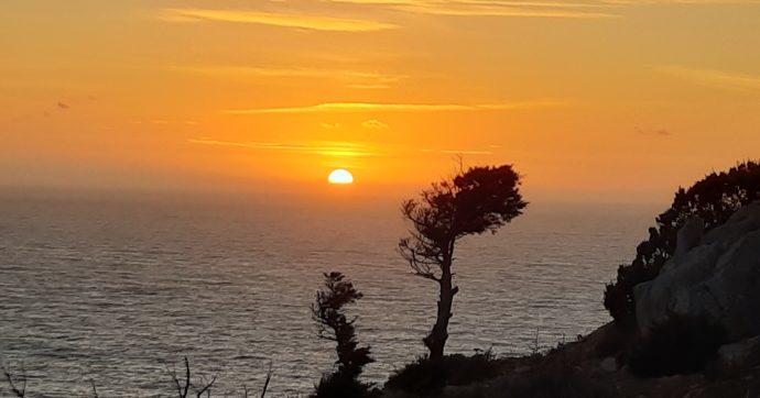 Un tramonto speciale in quest'angolo della Sardegna