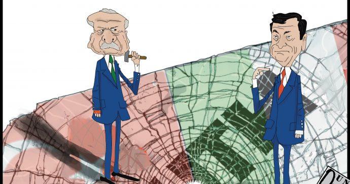 La rottura Erdogan Draghi [Vignetta]