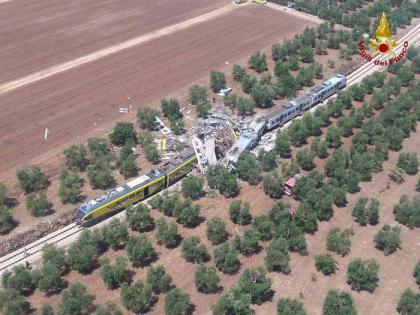 Incidente ferroviario tra Corato e Andria